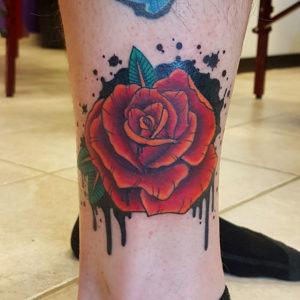 Graffiti Rose Tattoo by Smash