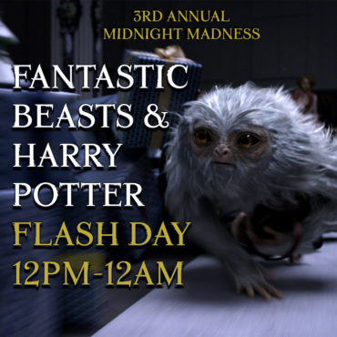 3rd Annual Fantastic Beasts & Harry Potter Flash Day