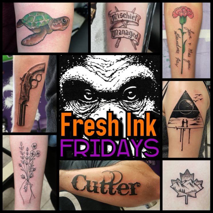 Fresh Ink Friday Walk-ins every Friday