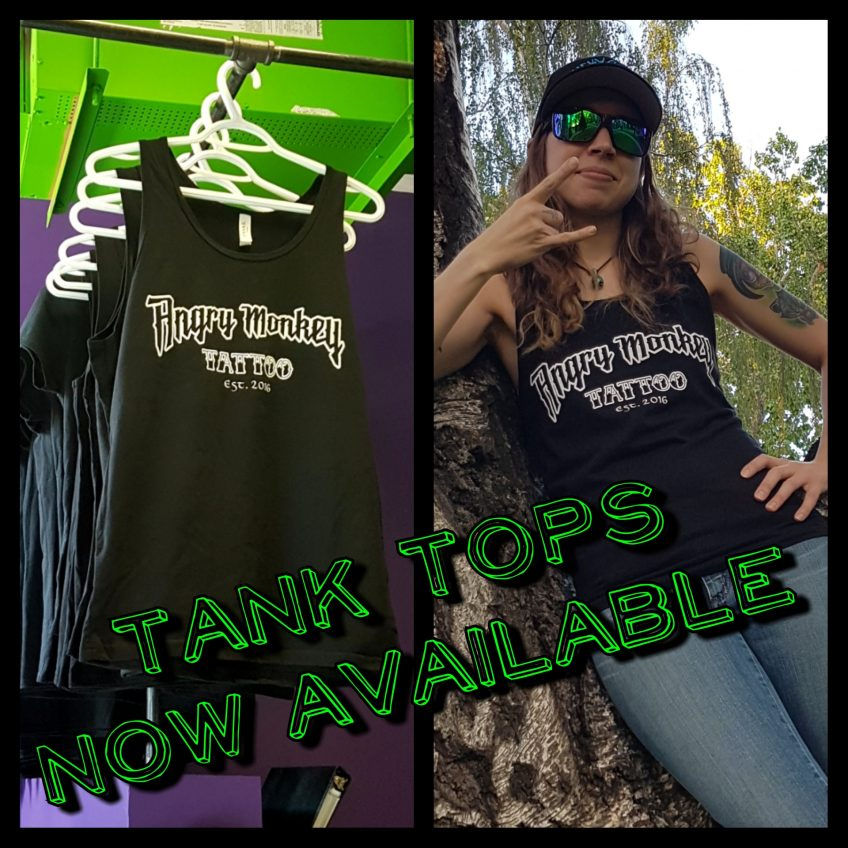 Tank tops now available!