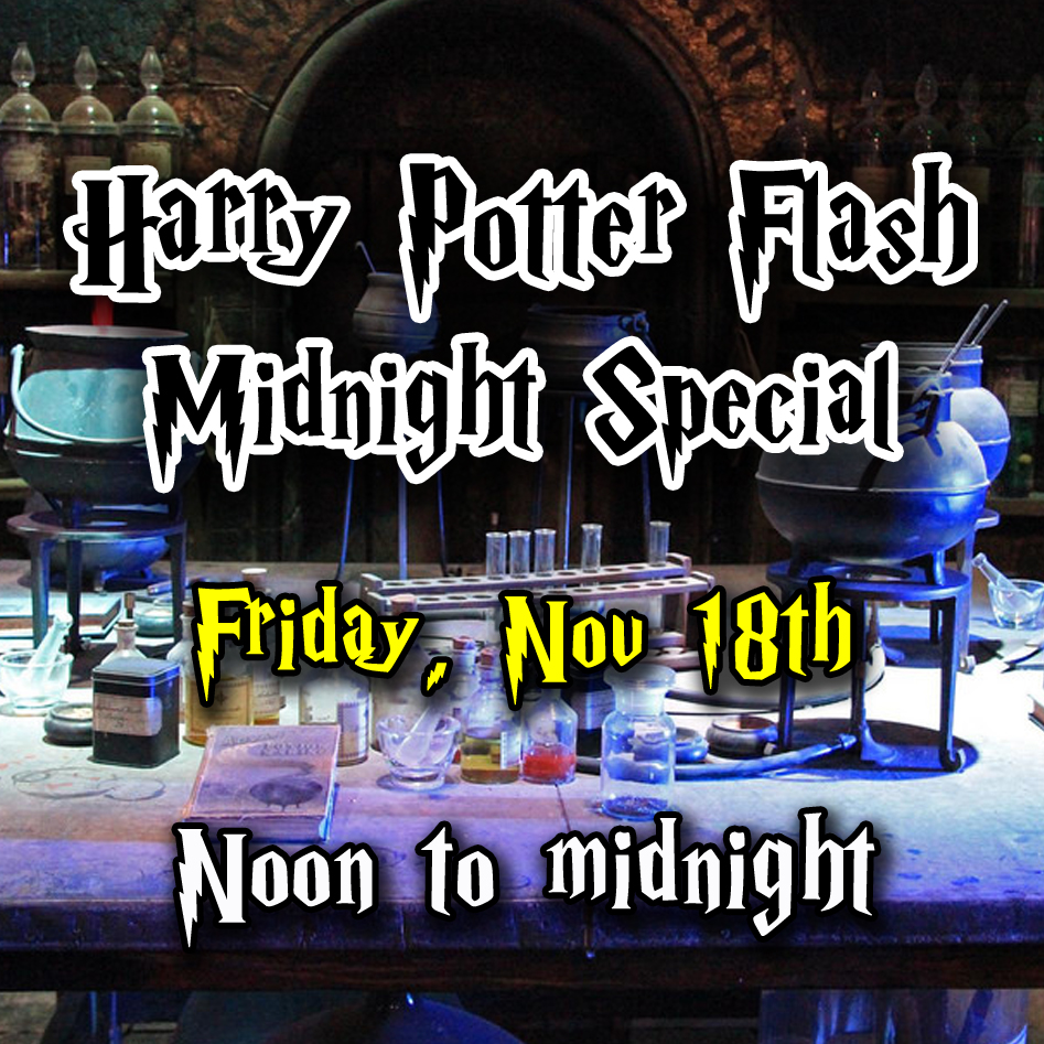 Harry Potter Flash Midnight Special