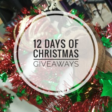 12 Days of Christmas Giveaways begins!