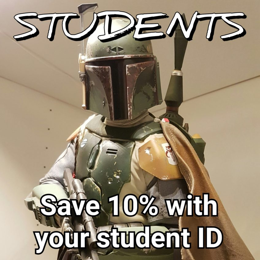 Post-secondary Students get 10% off!