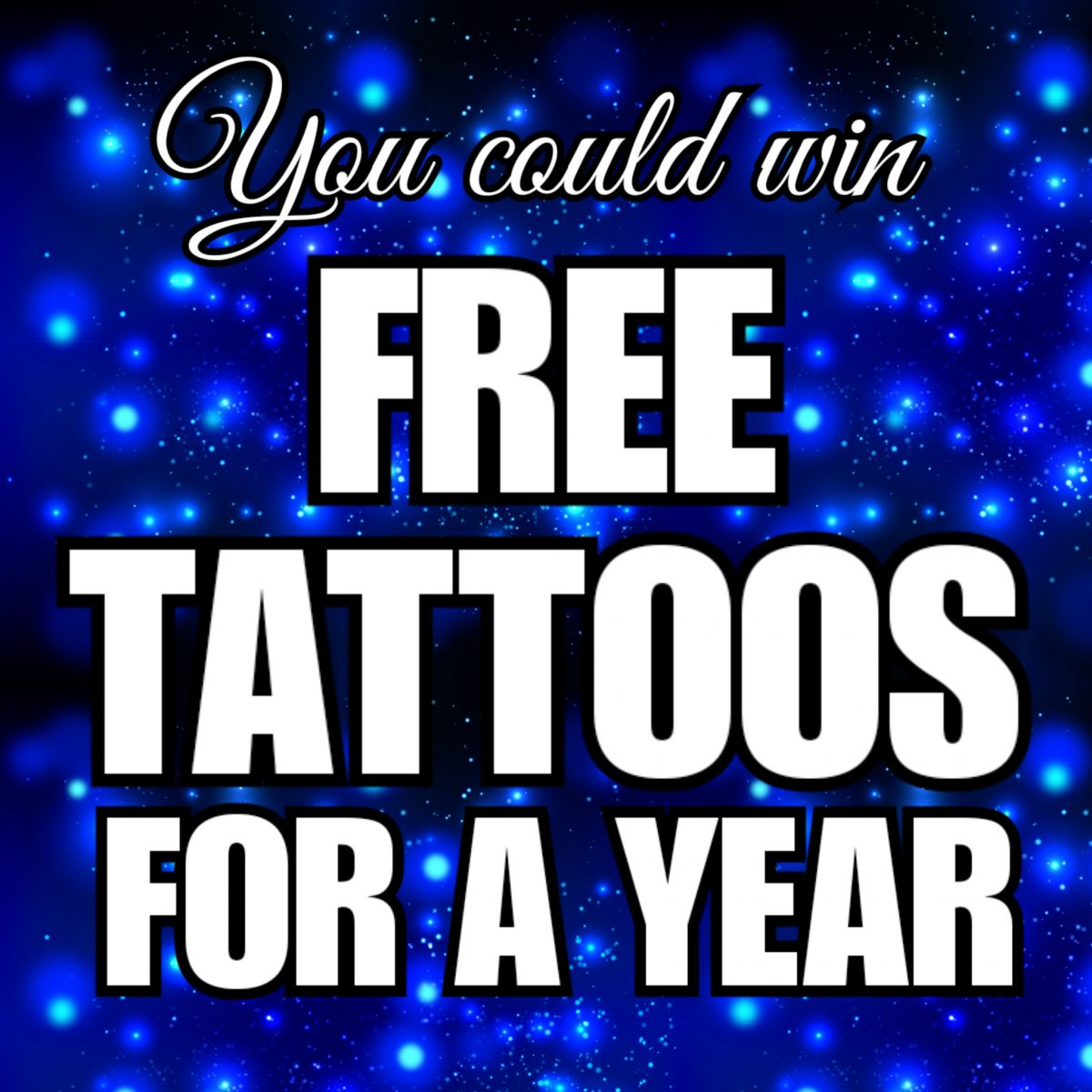 Angry Monkey Free Tattoos 4 a Year Giveaway