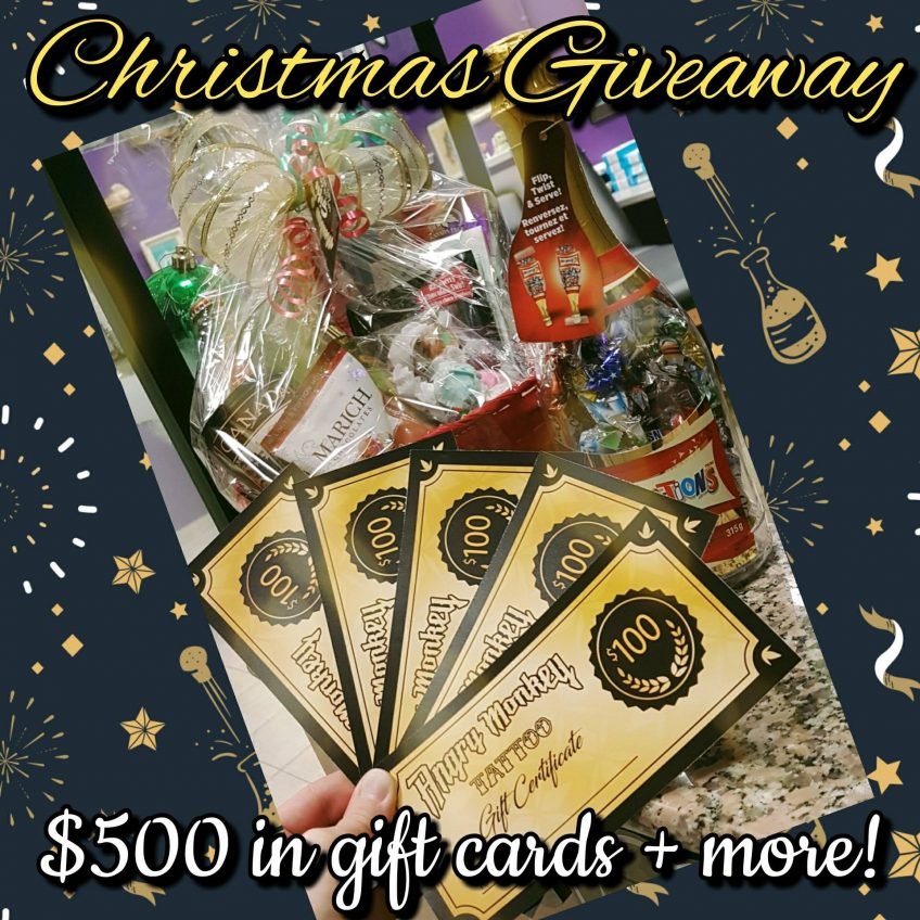 Christmas Giveaway Extravaganza