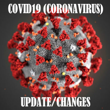 Changes due to Coronavirus