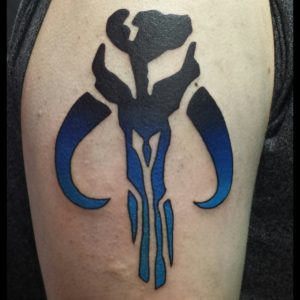 Mandalorian symbol by Smash