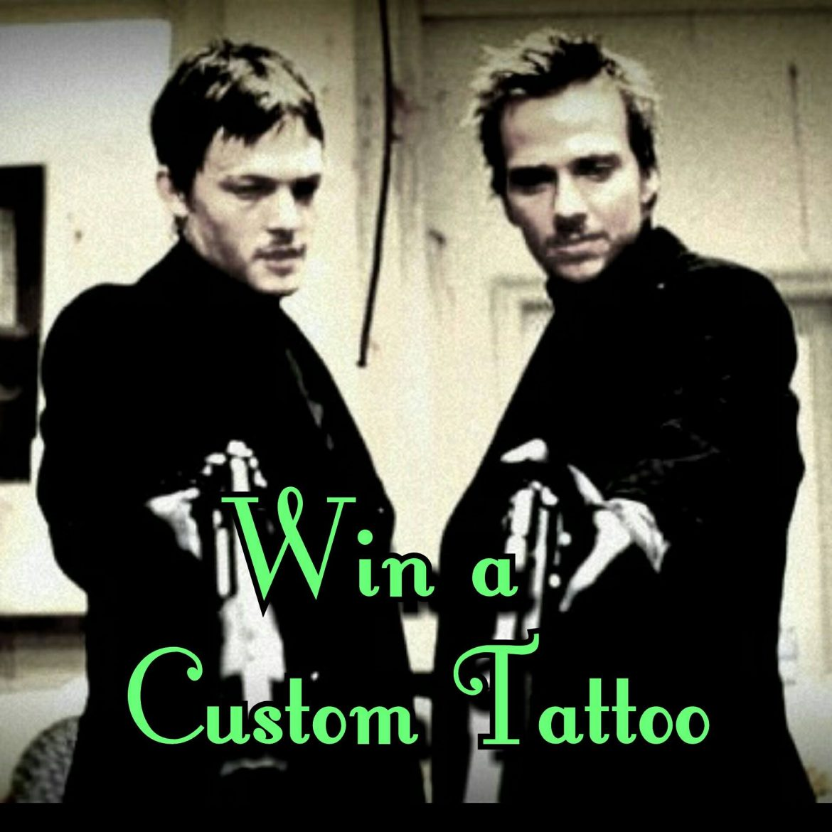 Enter to Win a Custom Tattoo