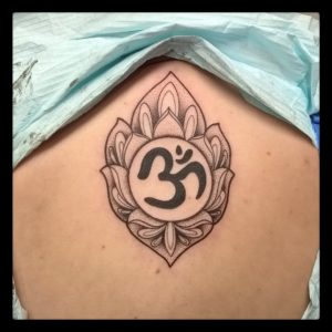 Ohm Mandala Tattoo By Smash