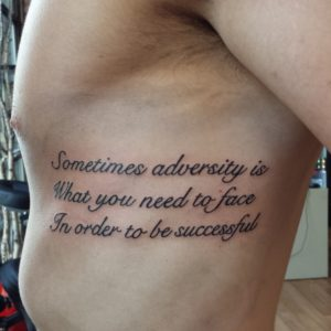 Quote Tattoo by Smash