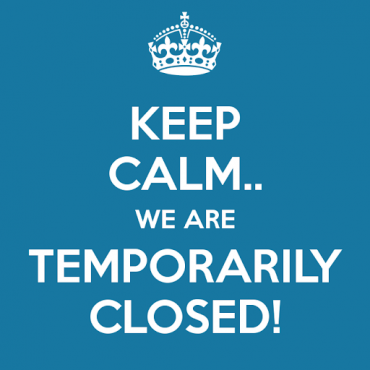 Temporarily Closed Due to COVID19 Pandemic