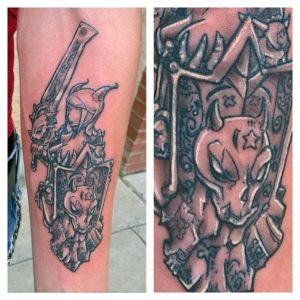 Templar Knight Tattoo By Andy