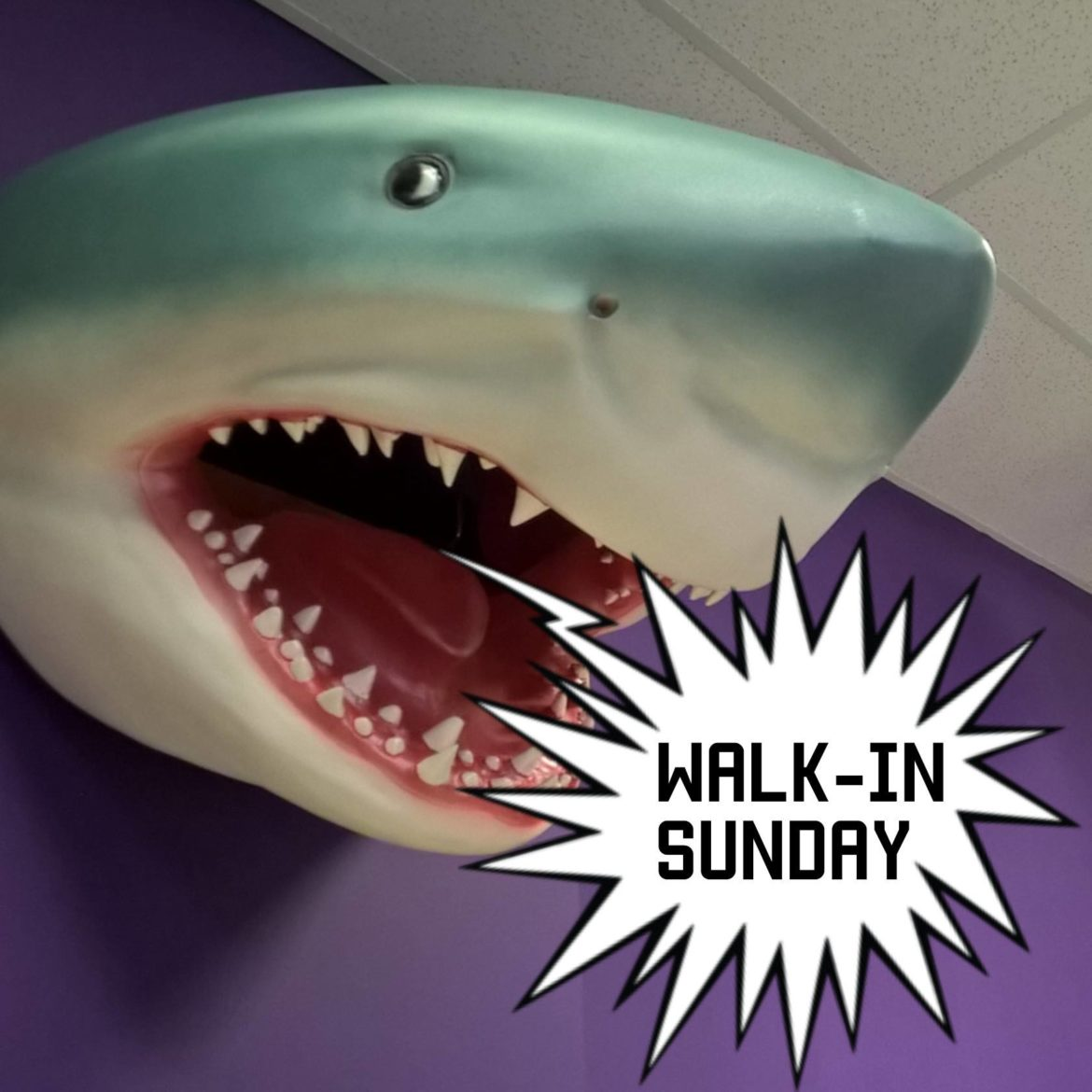 Walk-in Sundays